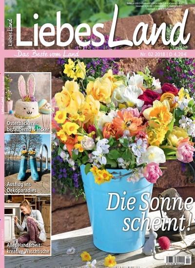 Liebes Land - epaper Titelbild Ausgabe 2/2018 (2110847)